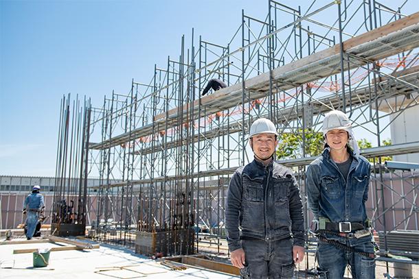 <入社祝金5万円>足場工事職人 建設現場で足場組立・解体を中心とした鳶作業